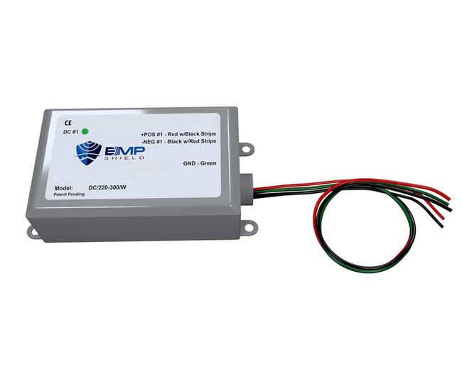 EMP Shield - 220-300V DC EMP, Solar Flare, and Lightning Protection - Solar and Wind