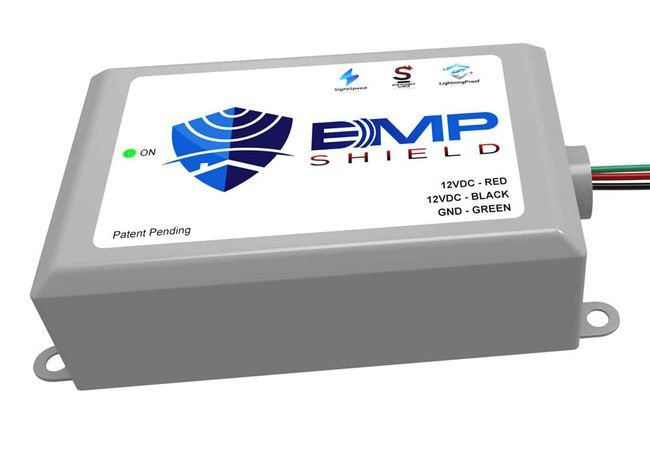 EMP Shield - 24V DC EMP, Solar Flare, and Lightning Protection - Solar and Wind