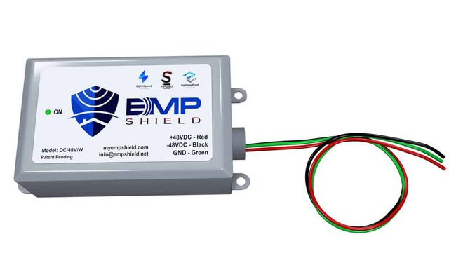 EMP Shield - 48V DC EMP, Solar Flare, and Lightning Protection - Solar and Wind