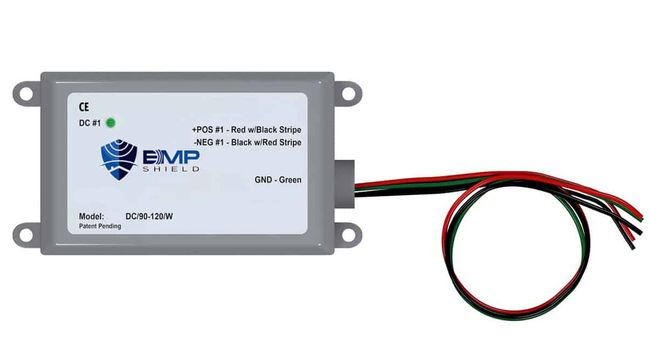EMP Shield - 90-120V DC EMP, Solar Flare, and Lightning Protection - Solar and Wind