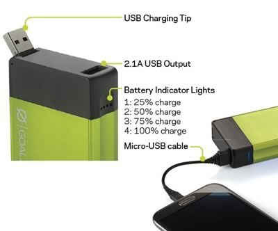 Flip 30 Recharger - Plum