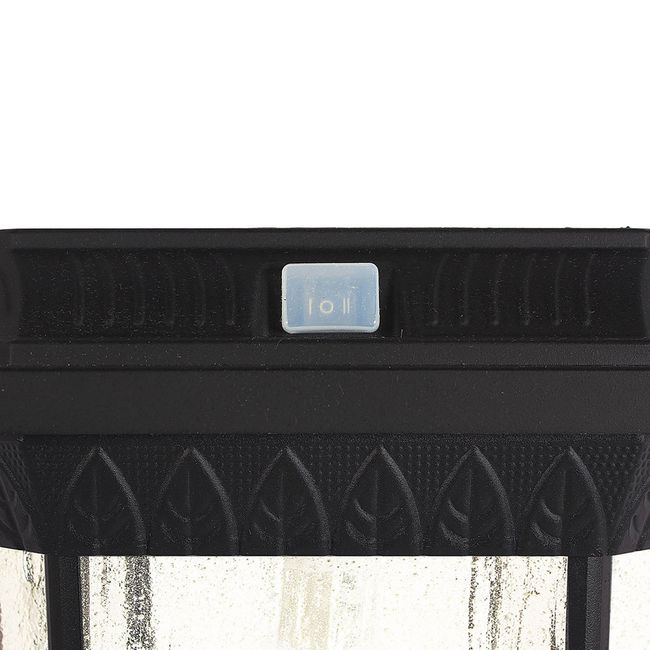Gama Sonic Colonial Solar Post Light with 3 Inch Fitter