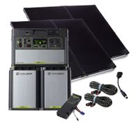 Goal Zero 3.8 kWh Solar Generator Expansion Battery Kit - 400 Watts of Solar Power