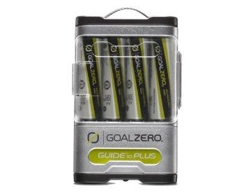 Goal Zero Guide 10 Plus Solar Kit - Portable Solar Charger for iPhones and USB Devices