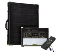 Goal Zero Yeti 1000 Lithium Portable Solar Generator Kit with MPPT and Boulder 100 Briefcase Solar Panel