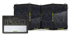 Goal Zero Yeti 1400 Lithium Portable Power Station with Nomad 100 Solar Panel Kit - V2 with Wi-fi