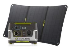 Goal Zero Yeti 150 and Nomad 20 Solar Power Station Kit