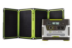 Goal Zero Yeti 400 Portable Power Station & Nomad 28 Plus Solar Panel Kit