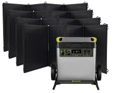 Goal Zero Yeti 6000X Solar Generator Kit with (4) Nomad 200 Foldable Solar Panels