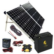 Lion Energy Beginner DIY Solar Power Kit Featuring the UT 250 Lithium Battery
