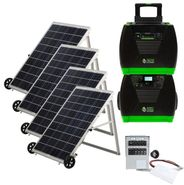 Natures Generator Elite Solar Generator - Power Transfer Platinum Kit