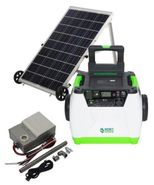 Natures Generator Portable 1800-Watt Solar Generator - Power Transfer Gold Kit
