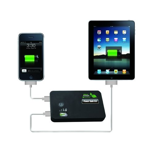 Power Bank 5.0 - Dual USB Portable Charging Device -  iPad and Tablet Compatible