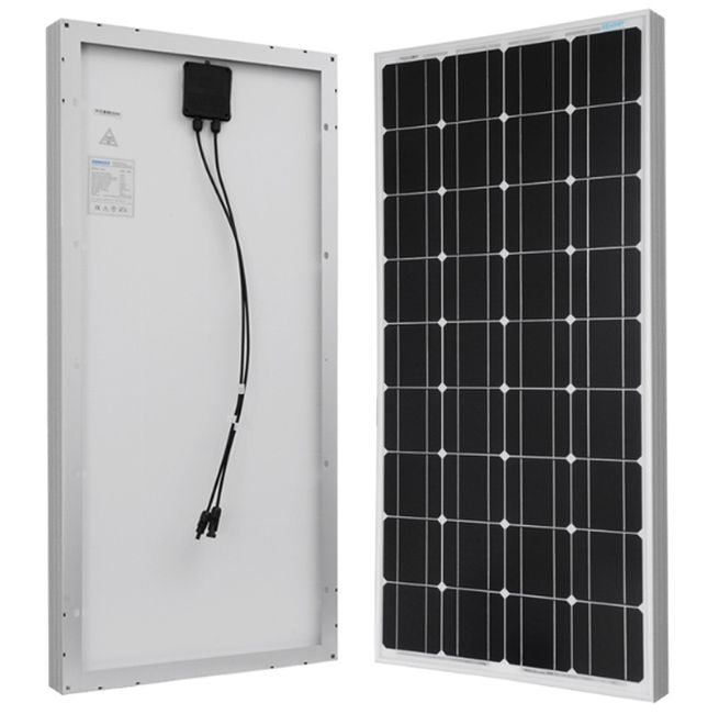 Renogy 100 Watt Monocrystalline Solar RV Kit - 12 Volts
