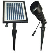 SGG-S12 Solar Spot Light - 12 High Power LEDs - Cool White