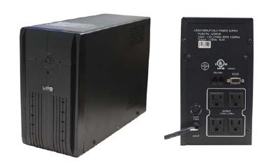 Universal 120VAC UPS Battery 1200VA - Uninterruptible Power Supply