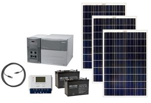 Earthtech Products 2400 Watt Hour Solar Generator Kit with 300 Watts of Solar Power for Homes and Off Grid