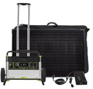 Yeti 1500X Portable Solar Generator Kit with (4) Boulder 100 Solar Panels