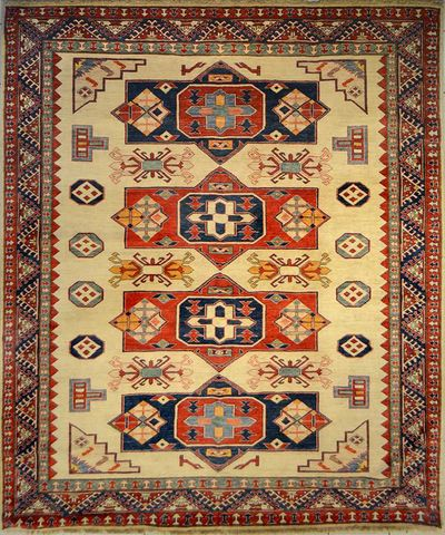 Kazakh - Exceptionally Fine : 10' x 8'4""