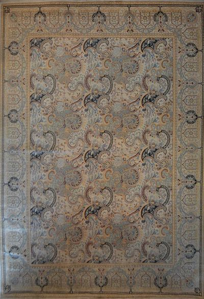 "Isfahan fin - Arts & Crafts de William Morris: 17'6"" x 12'"