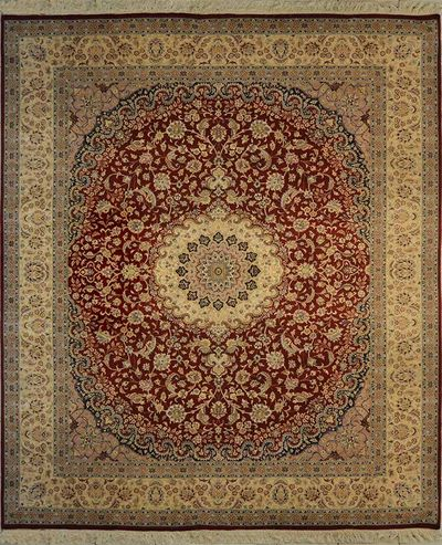 "Isfahan - Médaillon d'Or : 10'1"" x 8'2"""