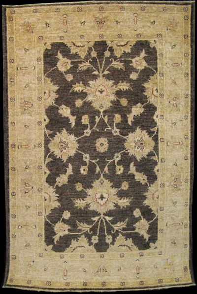 "Paktia Lotus Vines: 4'9"" x 3'2"""