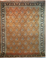 "Qum Trellis - Arts & Crafts by William Morris: 12'3"" x 9'"