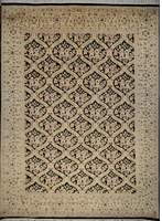 "Qum Trellis - Arts & Crafts by William Morris: 13'11"" x 10'1"""