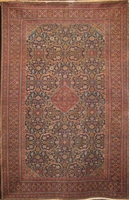 "Semi-Antique Tabriz: 10'4"" x 6'7"""