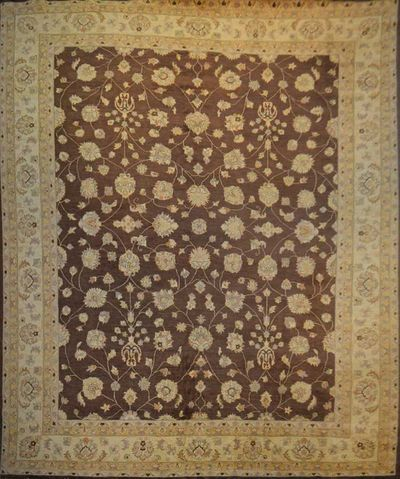 "Sultanabad Lotus: 14'7"" x 11'8"""