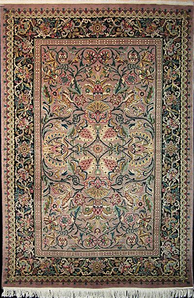 "Tabriz - Arts & Crafts by William Morris: 7'3"" x 4'8"""