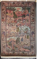 "Tabriz illustr� 8'3"" x 5'2"""