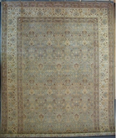 "Tabriz Trellis Arts & Crafts by William Morris: 12'4"" x 9'3"""