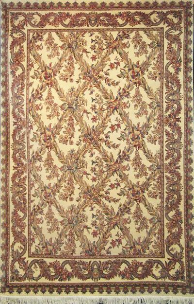 "Tabriz Trellis - Arts & Crafts by William Morris: 9'4"" x 6'1"""