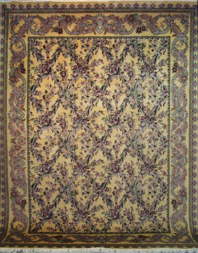 "Tabriz Trellis - Arts & Crafts de William Morris: 12'2"" x 9'2"""