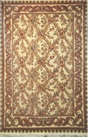 "Tabriz Trellis - Arts & Crafts de William Morris: 9'4"" x 6'1"""