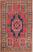 "Tapis Semi-Antique Kazakh, circa 1920: 6'6"" x 4'1"""