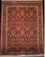 Tabriz Zerekhaki - Arts & Crafts by William Morris: 12' x 9'