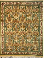 "Zerekhaki Tabriz - Arts & Crafts de William Morris: 6'2"" x 4'7"""