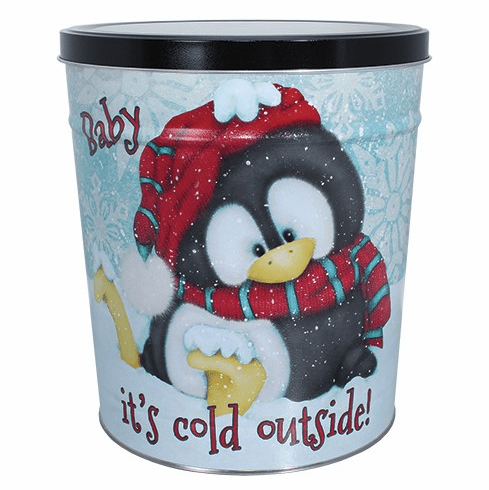 3 1/2 Gal. Baby It's Cold Gift Tin