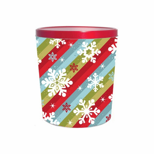 3 1/2 Gal. Sparkles and Snow Gift Tin