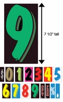 "VT™ Windshield Numbers (7 ½"")"