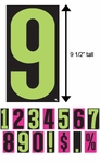 "VT™ Windshield Numbers (9 ½"")"