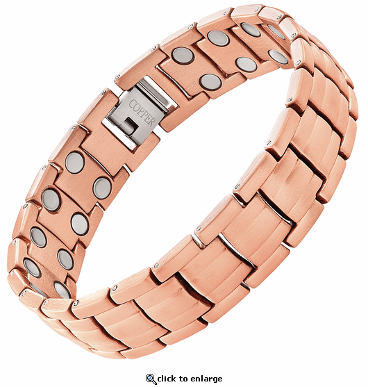 Copper Link Magnetic Therapy Bracelet