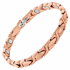 Copper Link Magnetic Therapy Bracelet XOXO