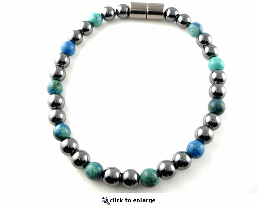 Hematite Magnetic Therapy Anklet Lapis Unity