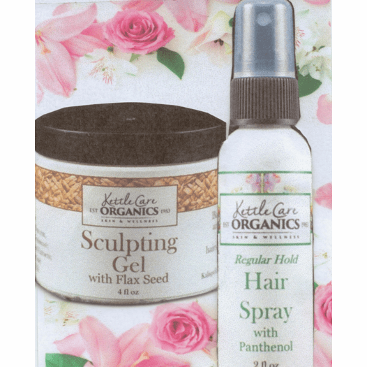 Kettle Care 100% All Natural Hair Spray or Styling Gel