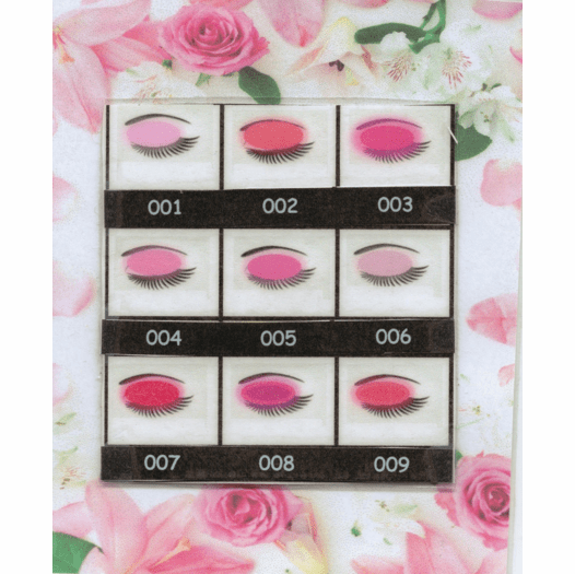 Natures Brilliance By Sue Mineral Eye Colors Pinks