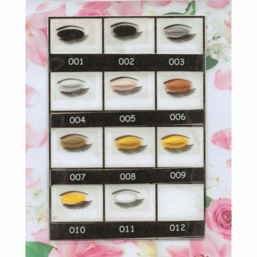 Natures Brilliance By Sue Powdered Mineral Eye Colors Black and Metals