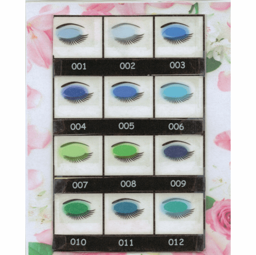 Natures Brilliance By Sue Powdered Mineral Eye Colors Greens Blues